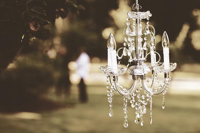 lustr s křišťály