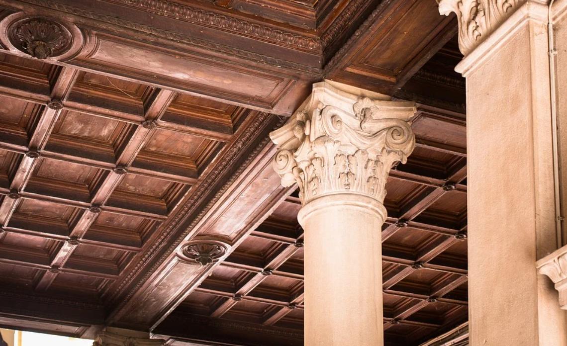stropy kazetové